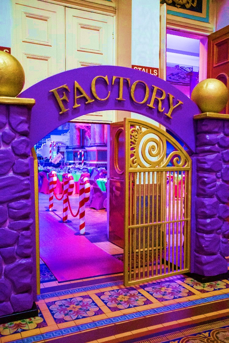 Chocolate Factory Themed Event - Archway Entrance