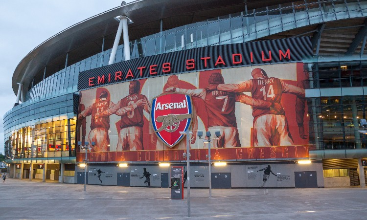 IBM Space Conference - Outside Emirates Stadium