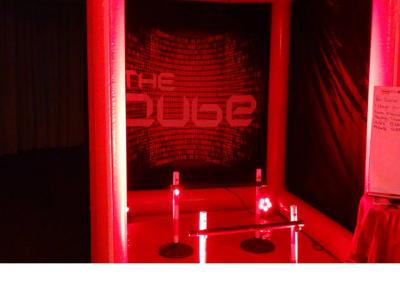 Close up of the Kube Challenge